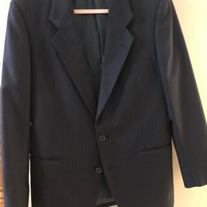 Yves Saint Laurent Men's Pin striped Blazer SZ42